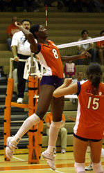 Clemson Downs NC State, 3-0, In Saturday Volleyball Action