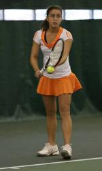 Clemson Women's Tennis Sweeps Furman, 7-0, On Thursday