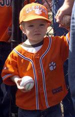 2007 Baseball Birthday Party Information & Registration Form