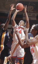 Lady Tigers Fall at Gamecocks, 73-59, on Thursday