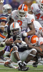 Chick-fil-A Bowl: Clemson Edged in Overtime