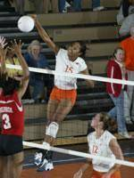 Volleyball Hosts Georgia Tech in ACC Action Tuesday