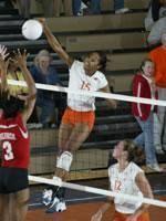 Tiger Volleyball Team Wins Clemson Invitational Tournament Saturday