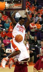 Clemson center Akin Akingbala Picked up by Boston Celtics