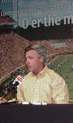Tommy Bowden Press Conference
