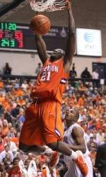 Voting Open for Clemson's Bryan Narcisse in College Slam Dunk Championship