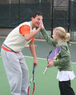 Tiger Tennis Teams Participate in Tournament to Benefit American Cancer Society