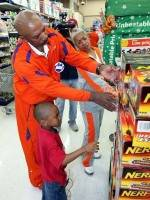 """Clemson Athletics Held Third Annual """"Shop With a Coach"""" Wednesday"""