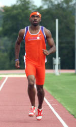 Men's Track & Field at Home for Solid Orange Classic Saturday
