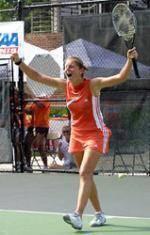Former Clemson Women's Tennis Standout Julie Coin Advances At US Open