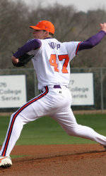 Kopp Pitches #15 Clemson to 5-1 Win Over #3 Florida State Saturday