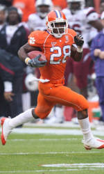 Four Clemson Football Players Earn Five 2008 All-ACC Selections