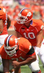 No. 25 Clemson Tops Louisiana Monroe, 49-26