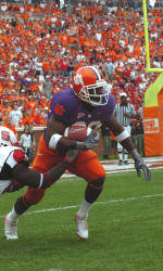 Davis and Spiller Named to Walter Camp Player of the Year Watch List