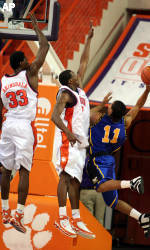 Clemson Runs Past Coppin State, 102-71