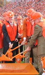 Clemson Football Game Program Feature: WestZone Construction Anniversary