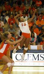 Tiger Volleyball Finishes Second At UNI Invitational