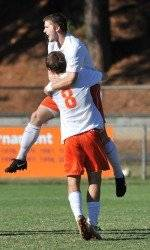 Maryland Defeats Clemson 2-1 in the Quarterfinals of the ACC Men's Soccer Tournament