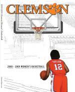 2008-09 Clemson Women's Basketball Media Guide
