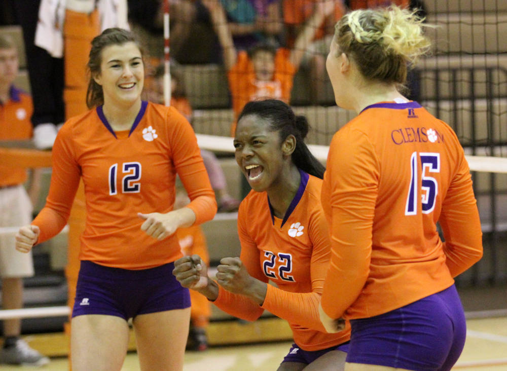 Orange Tops White in Annual Volleyball Scrimmage