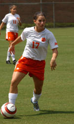 20th-Ranked Clemson Women's Soccer Team Defeats #23 Long Beach State Friday