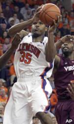 Clemson Edged by Virginia Tech in Heartbreaker, 80-77