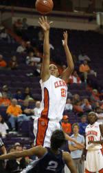 Clemson Women's Basketball Defeats Winthrop, 76-68, On Tuesday