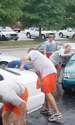 Clemson Men's Soccer Team Stages Their Own Disaster Relief Effort
