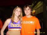 Clemson Student Wins Big in Men's Basketball Halftime Contest