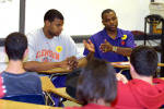 Men's Basketball to Participate in NABC Reading Program