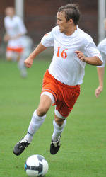 Former Clemson Player Nathan Thornton Tallies Goal and Assist in Victory