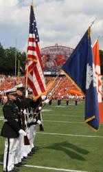 Photo Galleries: Clemson's Military Appreciation Day Celebration