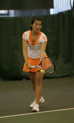 #12 Tiger Women's Tennis Sweeps Central Florida, 7-0