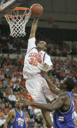 Tigers Move On With NIT Win Over Louisiana Tech