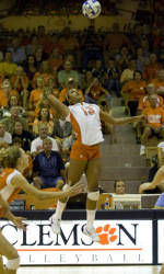 Tiger Volleyball Plays Host to Nationally-Ranked Opponent in Clemson Classic