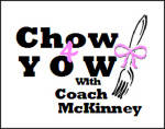 Chow 4 Yow with Coach McKinney to be Held Monday, February 16