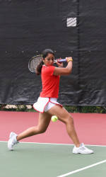 Women's Tennis Downs 13th-Ranked North Carolina, 6-1, On Sunday
