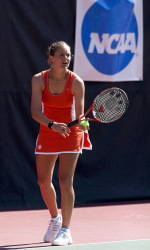 Former Clemson All-American Julie Coin Competing at Roland Garros