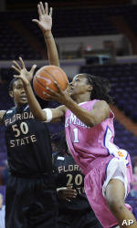 Lady Tigers To Open ACC Tournament Play On Thursday
