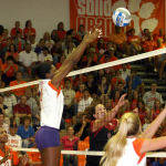Tiger Volleyball To Play Host To NC State And North Carolina This Weekend
