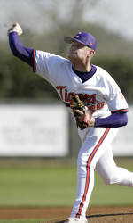 Stephen Faris Pitches #10 Clemson To Sweep of #12 N.C. State With 6-2 Win Sunday