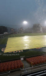 Clemson-UNC Asheville Dealyed by Weather