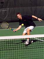 Men's Tennis Edged By Virginia, 4-3, In ACC Championship