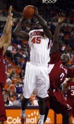 Clemson's Jerai Grant Named ACC Player-of-the-Week