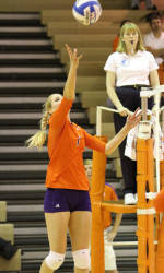 Volleyball Keeps Rolling with 3-1 Win at Maryland