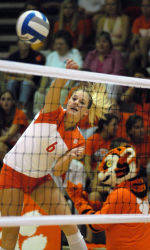 Clemson Volleyball Sweeps Florida State, 3-0, On Friday Night In Tallahassee, FL