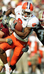 Clemson Falls, 34-33, To Boston College In Double Overtime