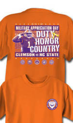 Clemson to Celebrate Military Appreciation Day Saturday, November 6