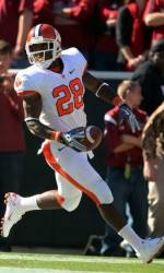 Spiller Named First-Team All-American by American Football Coaches Association