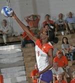 Clemson Volleyball Defeated By Virginia Tech, 3-1, On Sunday Afternoon